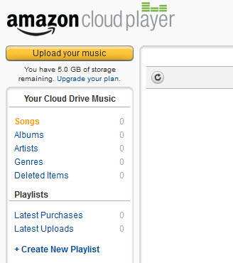 play iTunes music to amazon cloud player