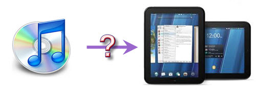 play iTunes music with HP TouchPad